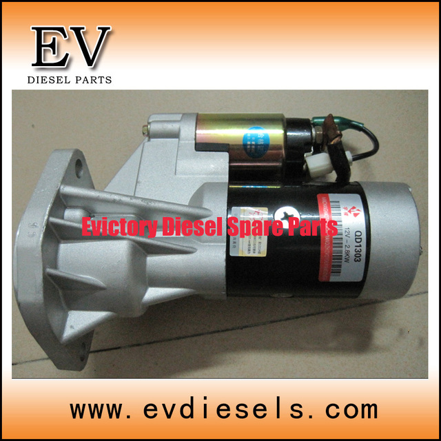 2.8TC 2.8TCI engine parts starter motor for great wall 2.8TC engine