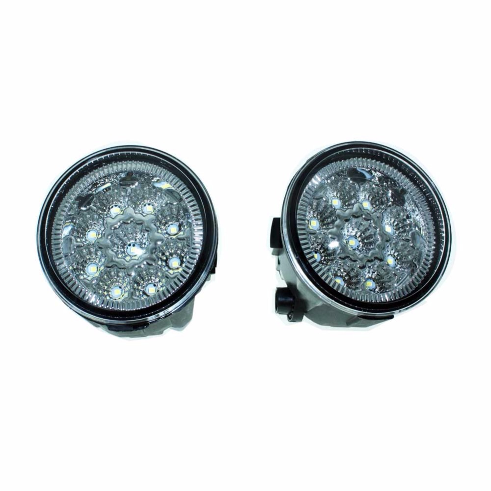 2pcs For NISSAN X-Trail T31 Closed Off-Road Vehicle 07-14 Car Styling Front Fumper LED fog Lights high brightness fog lamps H11 for lexus rx gyl1 ggl15 agl10 450h awd 350 awd 2008 2013 car styling led fog lights high brightness fog lamps 1set