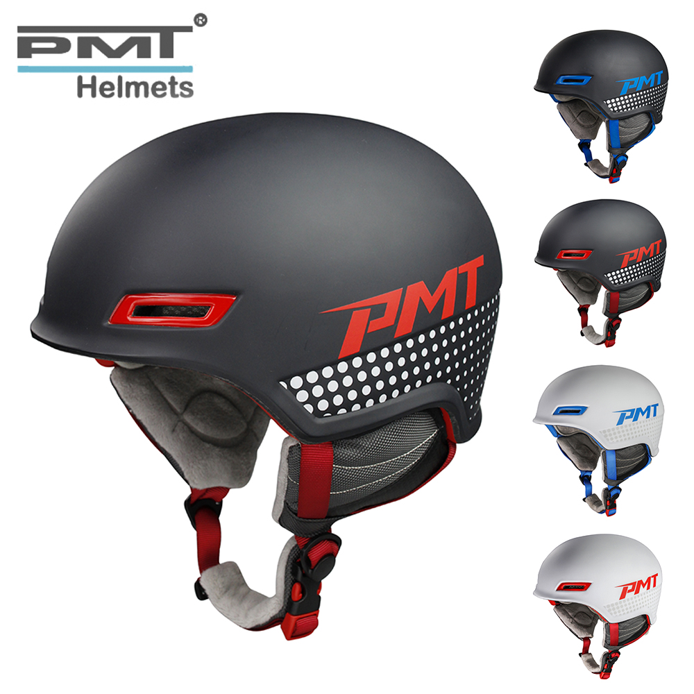 PMT Ultralight Integrally-molded Comfortable Skiing Helmets Safety Protect Adult Thermal Snowboard Skateboard Sport Soft Helmets