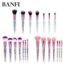 цена на Makeup Brushes 7pcs/set profesional Foundation Blusher Eyeshadow Lips Make up Brush Cosmetic Set Kit  Perfect Blending powder
