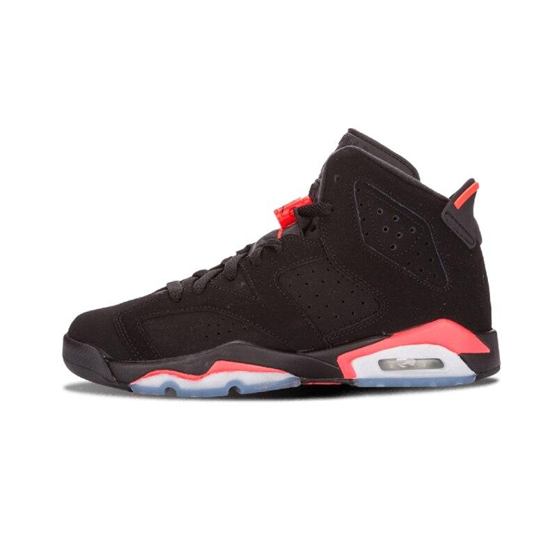 new arrival eaf67 cc490 US $48.71 25% OFF|Aliexpress.com : Buy Jordan 6 VI Men Basketball Shoes CNY  Infrared Black Slam Dunk UNC Wheat Gatorade Athletic Outdoor Sport ...