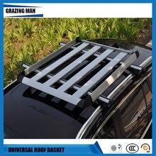 Бесплатная доставка крыши автомобиля кожух из алюминиевого сплава Чемодан несущей багажа перекладина стойки для крыши автомобиля коробка корзина Универсальный
