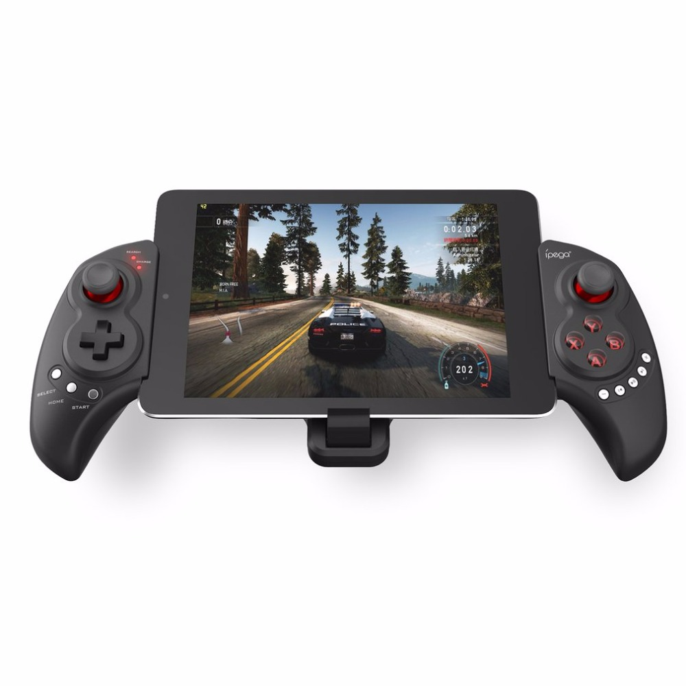 iPega PG-9023 Telescopic Bluetooth Game Handle Wireless Gamepad Controller Dual-mode Joystick For iOS Android PC image