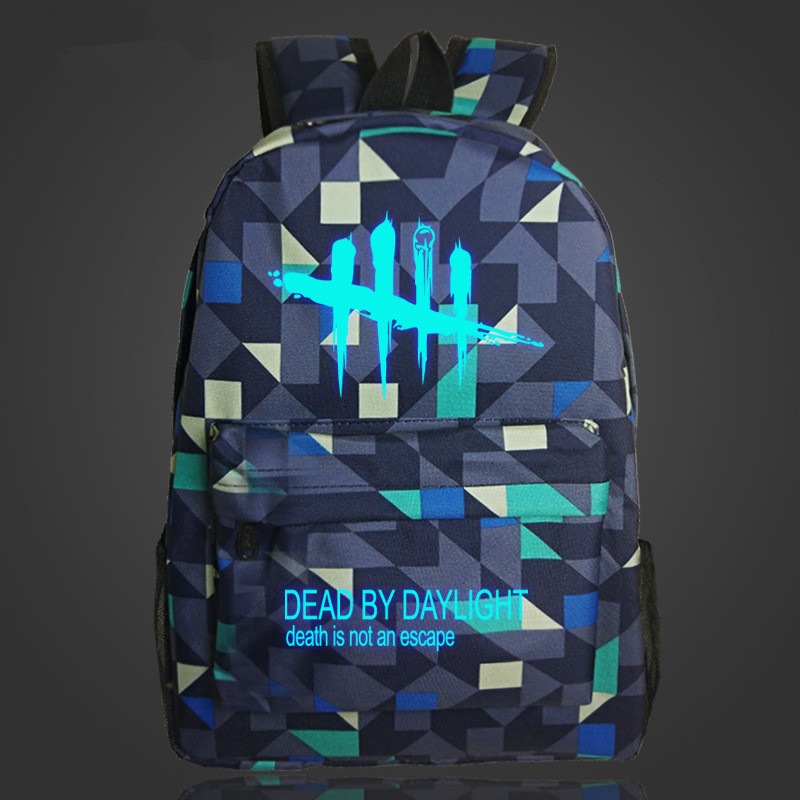 Free Shipping Luminous Game Backpack Dead By Daylight Cool School Bag For Young Man нил янг neil young dead man