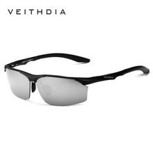2017 VEITHDIA Aluminum Magnesium Brand Polarizerd Mens Sunglasses Sun Glass Mirror Eyewear for Men Male oculos masculino 6576