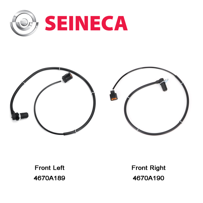 1 Set CGQ ABS Sensor Wheel Speed Sensor Front Left and Right For Mitsubishi Pajero 4670A189