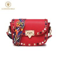 LUDESNOBLE Bags Handbags Women Famous Brands Shoulder Bag Women Crossbody Bags For Women Bolsos Mujer De