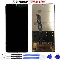 Original display replacement For Huawei P30 Lite LCD display P 30 Lite P30Lite Nova 4E Touch Screen LCD Display Assembly tools