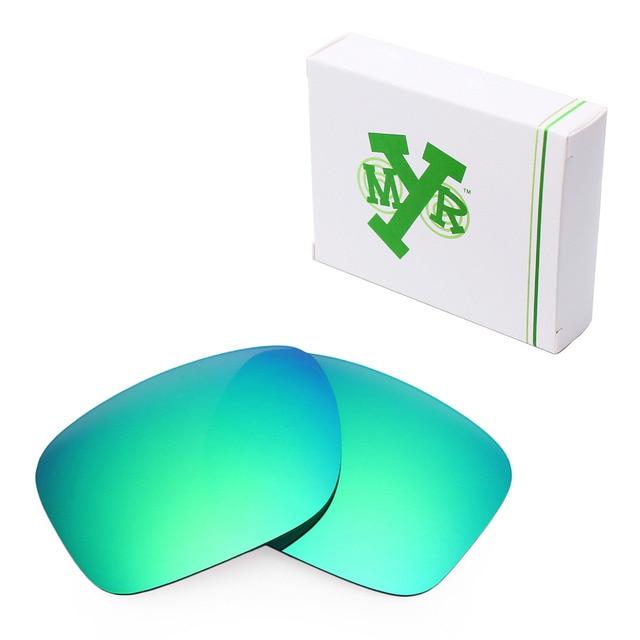 05e199e6d8c7e Mryok Anti-Scratch POLARIZED Lentes de Reposição para óculos Oakley  Holbrook Óculos De Sol Verde