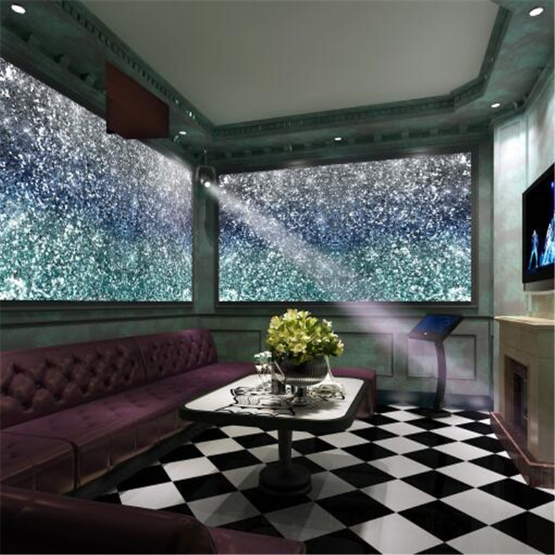 The Living Room With Sky Bar Furniture Tasmania Starry Ktv Wallpapers Home Decor Theme Hotel Custom Photo For Glitter Sliver Murals In From