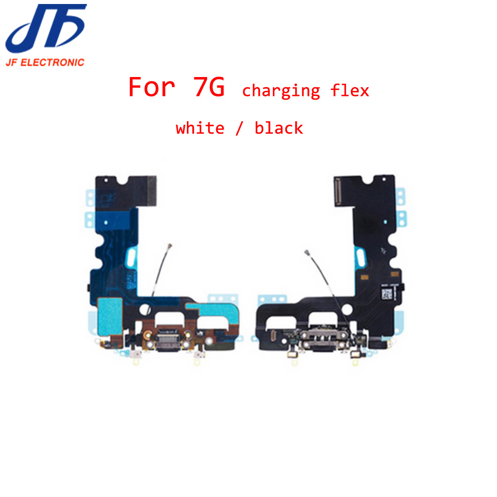 100pcs New USB Charging Charger Port Dock Connector Flex Cable For iPhone 7 7G 4 7Inch