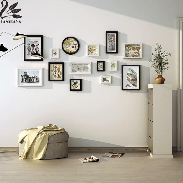 Lanskaya Leaves Birds Flowers Memories Solid Wood Photo Frames Walls ...
