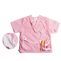 Children Pretend Play Toys Nurse Surgery Doctor Role Play Fancy Dress Costume Set for Boys Girls Learning Playing Interest Kit