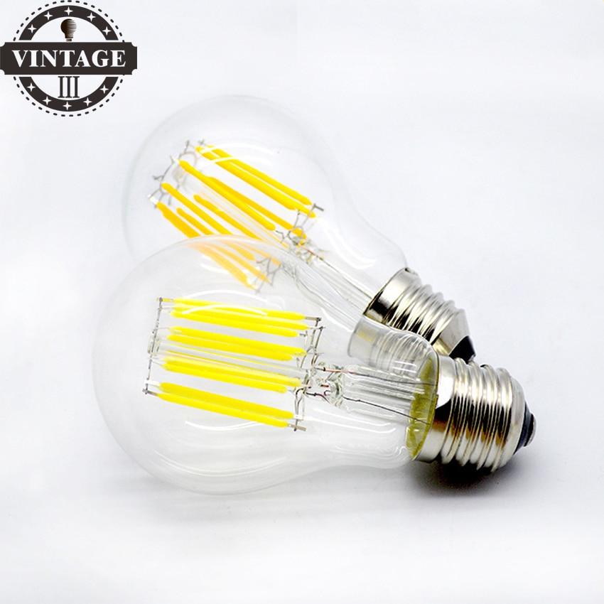 A19 Led Filament Bulb Nostalgic Edison Style 4w To Replace: Aliexpress.com : Buy LightInBox A19 220V 2W 4W 6W 8W E27