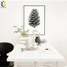 Wall Art Canvas Painting Pictures For Living Room Nordic Decoration Pinecone Decoration, Hogar Decor