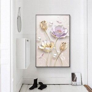 """Image 2 - ميان ، خاص ، الماس التطريز ، كامل ، DIY بها بنفسك ، الماس اللوحة """"الخزامى الزهور"""" ، عبر غرزة ، الماس الفسيفساء ، حبة الصورة ، ديكور المنزل"""