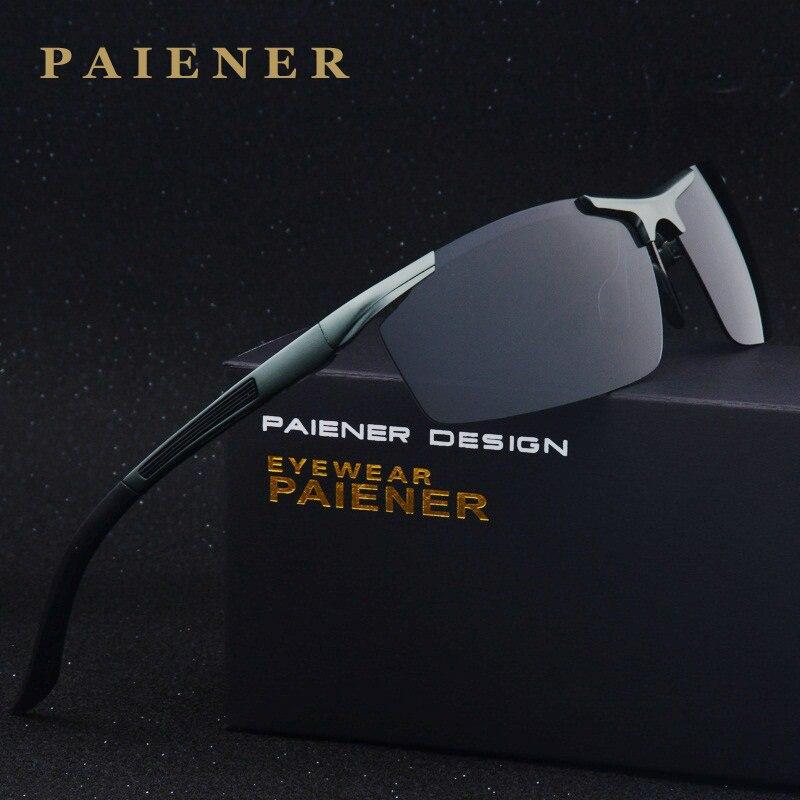 Top Qualité Mode lunettes de Soleil Polarisées Hommes D'origine Marque Designer Lunettes de Soleil homme femmes Polaroid Lunettes De Soleil Vintage Oculos