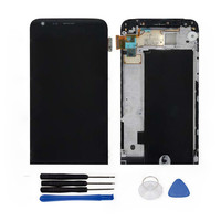 LCD Display Touch Screen Digitizer Assembly With Frame And Tools Replacement For LG G5 H820 H840