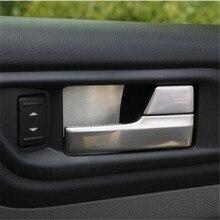 Cotochsun автомобильный Стайлинг из нержавеющей стали дверная ручка Чаша накладка чехол для Ford Focus 2 mk2 2005- седан хэтчбек автомобильные аксессуары