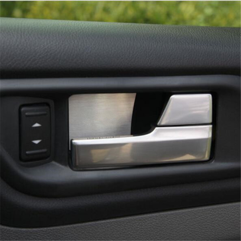 Cotochsun Car Styling Stainless Steel Door Handle Bowl Trim Case For Ford Focus 2 Mk2 2005-2015 Sedan Hatchback Car Accessories