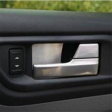 Cotochsun – poignée de porte de voiture en acier inoxydable, étui de garniture de bol pour Ford Focus 2 mk2 2005 – 2015 sedan hatchback, accessoires