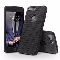 """QIALINO Case for iPhone 7 Fashion 4.7"""" Ultra Thin Genuine Leather Phone Cover for iPhon"""