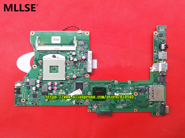 Genuine X401A1 X401A motherboard Fit For Asus X301A X401A model 14 '' Notebook PC mainboard 60-N3OMB1103-A04 31XJ1MB00N0 HM70