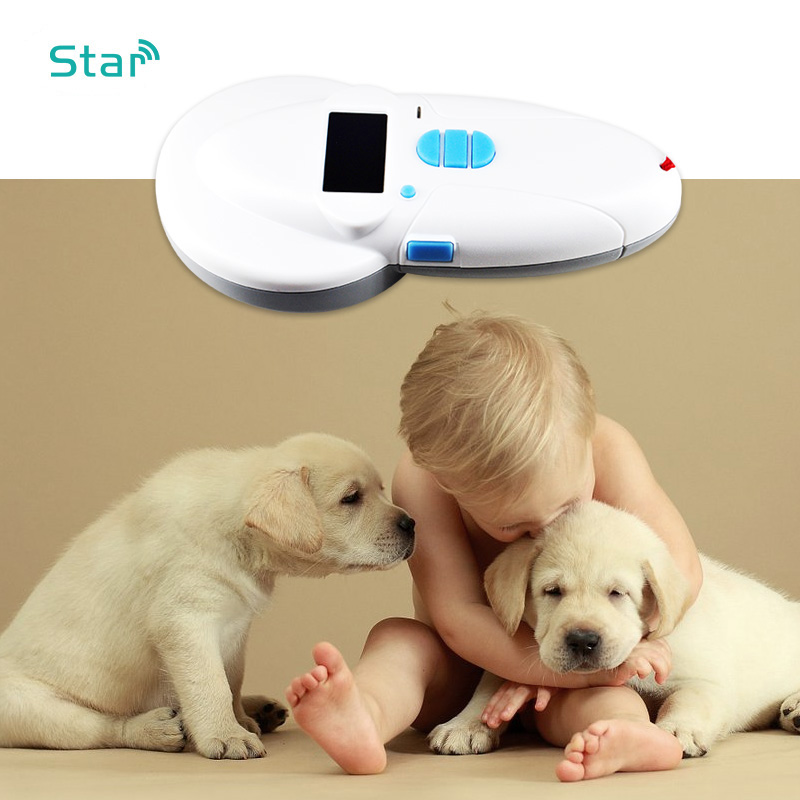 Universal ISO Animal RFID Microchip Reader Pet Id Scanner with Bluetooth USB Port 134 2khz FDX