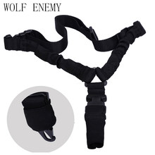 VS Tactical Hunting Gun Sling Verstelbare 1 Single Point Bungee Rifle Sling Strap System(China)