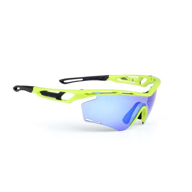 Polarized Sporting Sunglasses 4 Lenses Kit Anti-UV Road Goggles Night Vision ciclismo lunette bicicleta Gafas