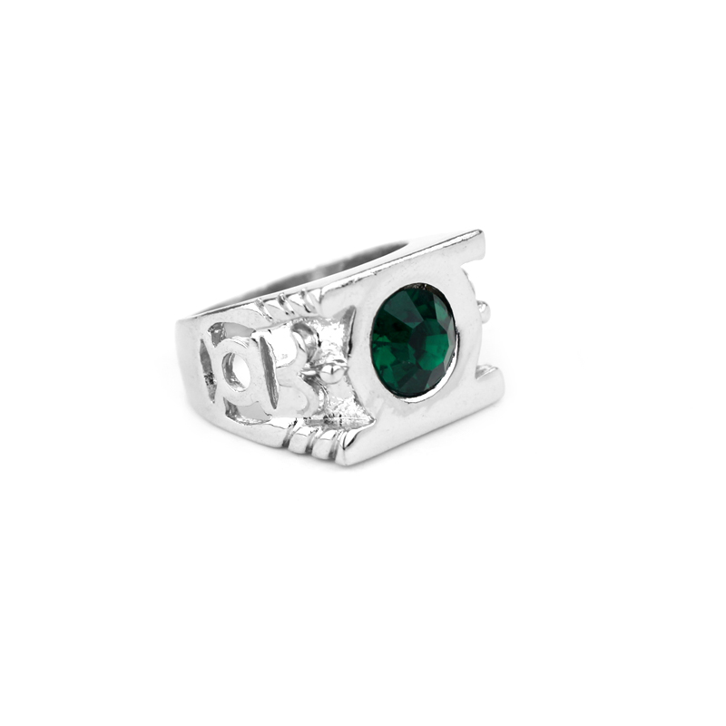 Free Delivery Green Lantern Ring Man Woman Metal High Quality Ring Fashion Jewelry Manufacturer Direct Sales Wholesale