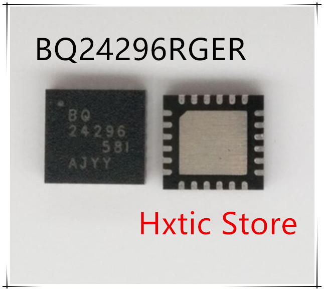 NEW 10PCS LOT BQ24296RGER BQ24296 24296 QFN 24 IC