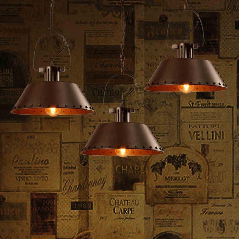Retro Loft Apartment Dining Living Pendant Light Vintage