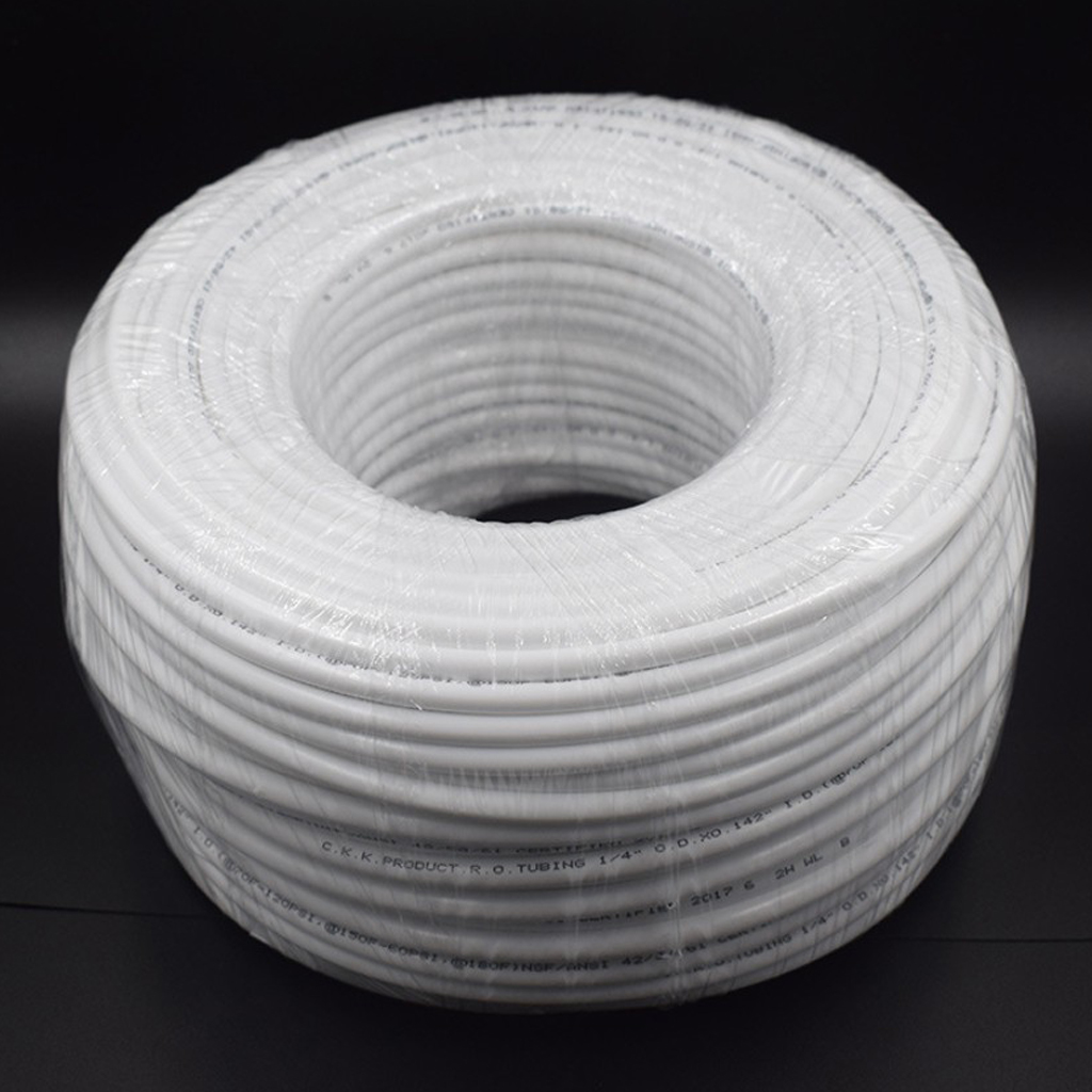 1/4inch Dia 100m Tube Reverse Osmosis Water Filter System Pipe Food Grade PE Tube Hose