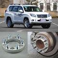4 unids Billet 6 Lug 12*1.5 Pernos Separadores de Ruedas Adaptadores Para Toyota Prado 2003-2013