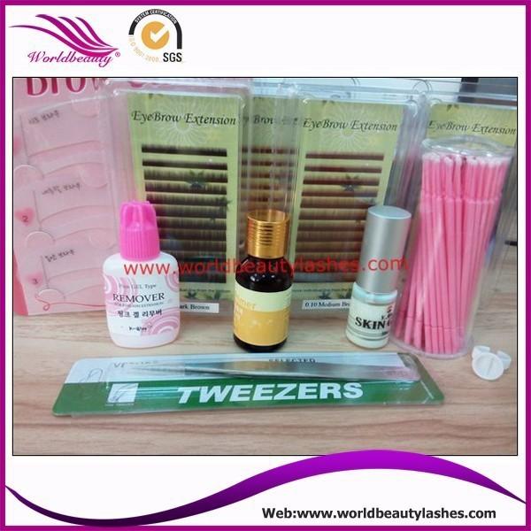 Kits de Extensão Da Vida diária Da Sobrancelha, confecção de ferramentas para sobrancelha