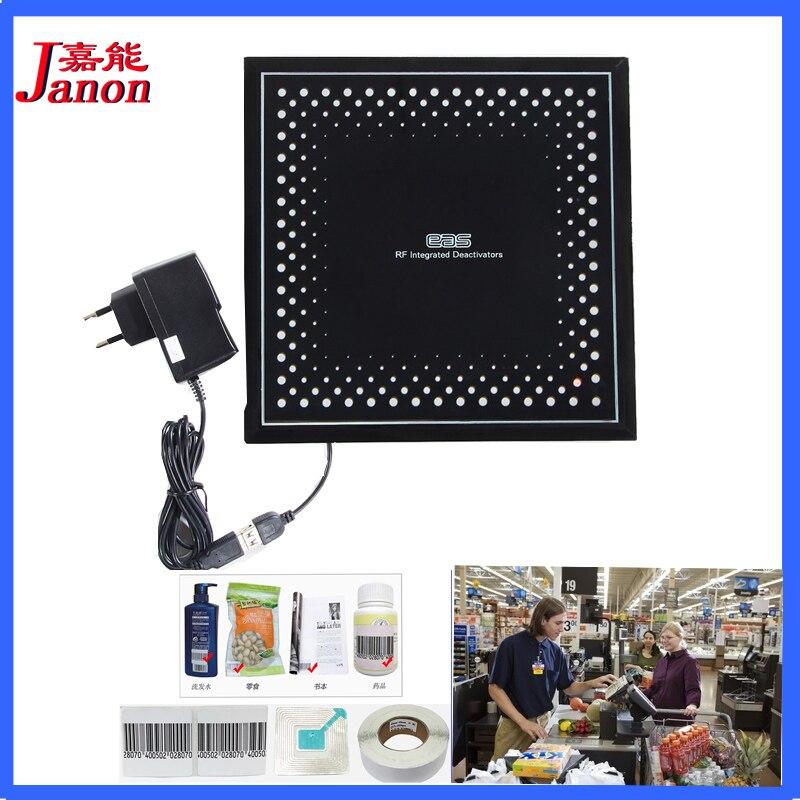 Supermarket anti theft label deactivator,deactivator for eas soft label RF8.2Mhz 3502080 canemu anti theft simulator