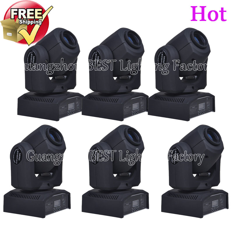 6pcs/lot new led spot moving head light 30w dmx stage light 8/11 channels have lights in stock 100pcs lot bu4226g tr new in stock