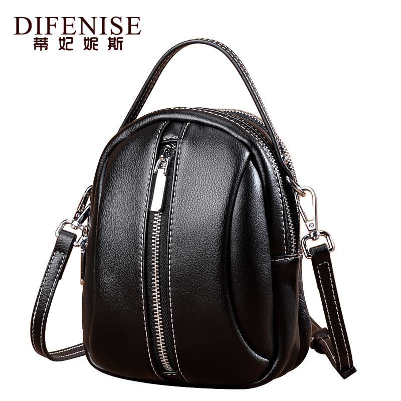 Difenise First Layer Of Cowhide Women Messenger Bags 2018 Fashion Crossbody Bags Famous Female Designer Tote Bag Shoulder Bags fashion women messenger bags famous brand crossbody shoulder tote ladies quality first layer cowhide genuine leather female bag