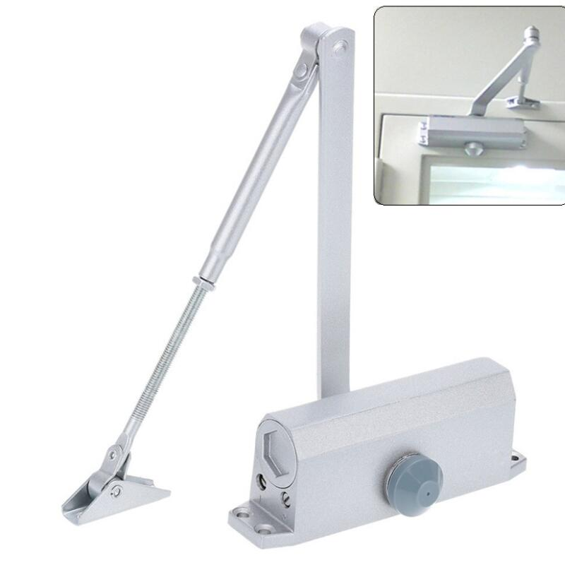 Automatic Door Closers Security Adjustable Closing/Latching Closed Hydraulic Door Buffered 90 Degree 45Kg 90mm practical stainless buffer door closer adjustable closing latching automatic door security system hand doors 25 45kg
