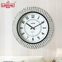 Стена в современном минималистическом стиле часы гостиная Мода электронные часы немой Американский дом часы личность оригинальные настенные часы