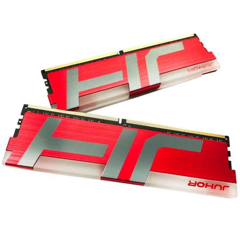 8G DDR4 PC4 3200Mhz Module PC RAM de bureau mémoire rvb brillant dissipateur thermique DDR4 8G 3000MHZ PC4-24000 288 broches mémoire RAM