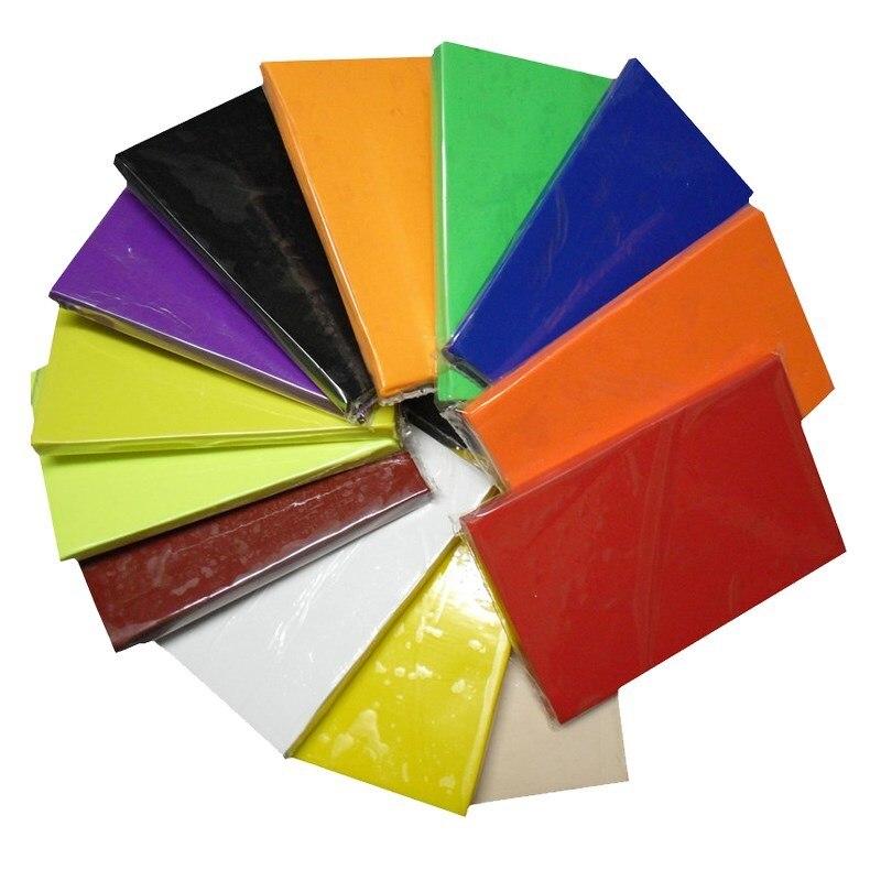 1 Pcs 500g Professional Suave Lama de Argila Cerâmica Escultura Em Estuque Estudante DIY Artesanato Classe De Cerâmica Colorida Qualidade Durável NOVO