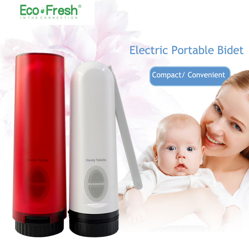 Ecofresh Handheld Electric Portable Bidet Private Parts Wash Baby Butt Artifact Anus Lower Body Vulva Body Cleaner