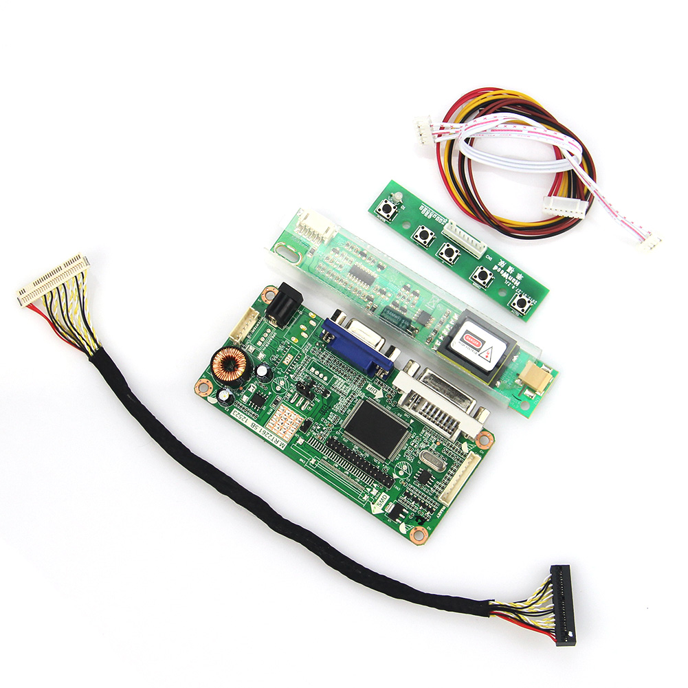 VGA+DVI M.RT2261 M.RT2281 LCD/LED Controller Driver Board For LP154W01-A3 LTN154X3-L01 1280x800 LVDS Monitor Reuse Laptop