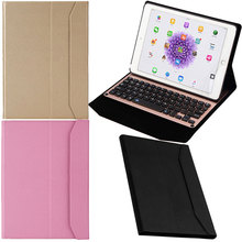 New PU Leather-based Stand Case Cowl + Constructed-in Battery Wi-fi Bluetooth Aluminum Alloy Keyboard For iPad Air /Air 2
