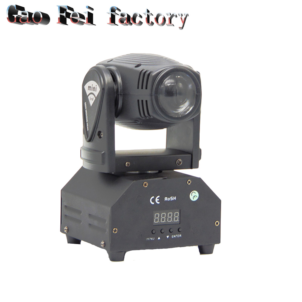 все цены на Mini Led Beam Moving Head 10W Lights RGBW Cree Led DMX 11/13 Chs Stage Light Night Club Disco Moving Head Lighting онлайн