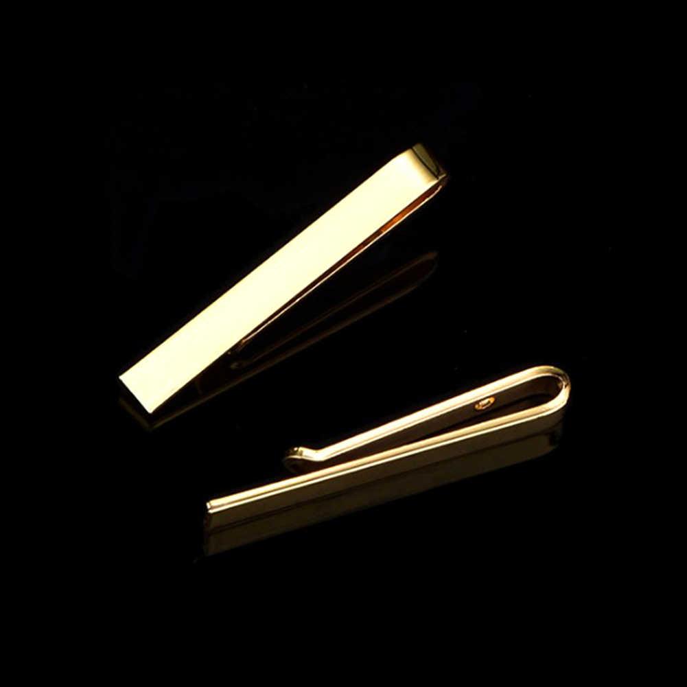 1 MÁY TÍNH Cổ Điển Nam Thắt Pin Kẹp Phong Cách Thường Ngày Kẹp Cà Vạt Tinh Tế trong Đám Cưới Thanh Bạc và Vàng Màu Sắc Phối chân Nam Món quà Trang Sức