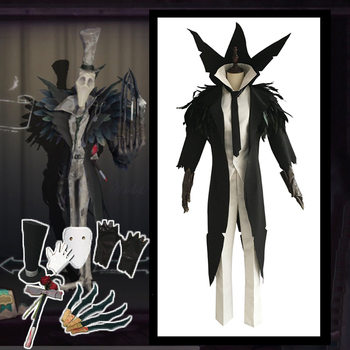 Game Identity V Cosplay costumes The Ripper Jack Cosplay Costume Hunter Jack Fog Osprey Black Cosplay Costume Party Men Costume