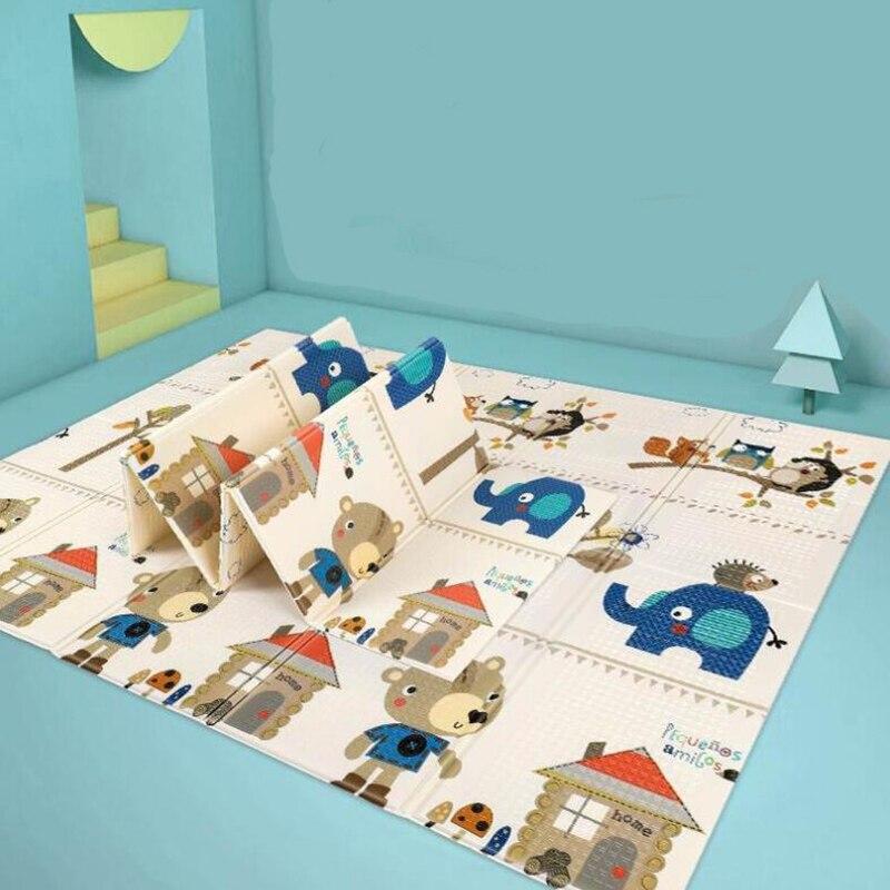 Bébé ramper tapis de jeu Puzzle jouets pour enfants tapis XPE pliable enfants tapis épaissi tapis de jeu développement tapis de jeu pliant tapis